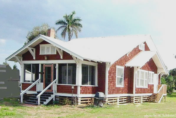 The Westergaard House, home of the Glades County Historical Society